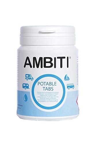 Ambiti Potable Tabs, Pastillas Potabilizadoras de...