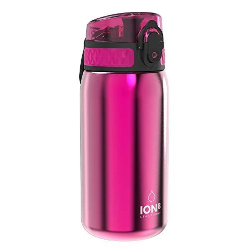 Ion8 Acero Inoxidable Botella Agua, Sin Fugas,...