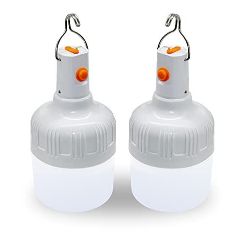 Ledeak 2 Piezas LED Faroles de Acampada, Lámpara...