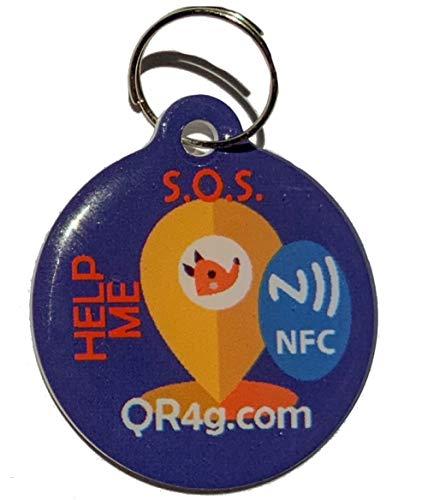 QR4G.com GPS Placa identificativa inteligente para...