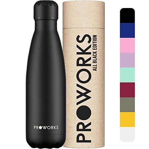 Proworks Botellas de Agua Deportiva de Acero...