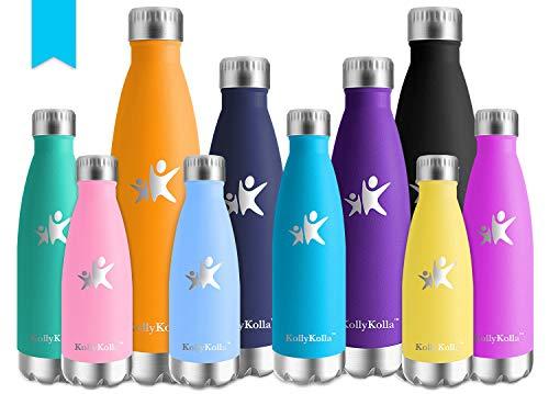 KollyKolla Botella de Agua Acero...