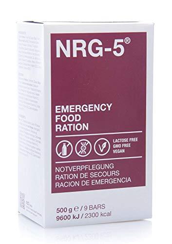 Ración de emergencia -, NRG-5, 1 caja de cartón...
