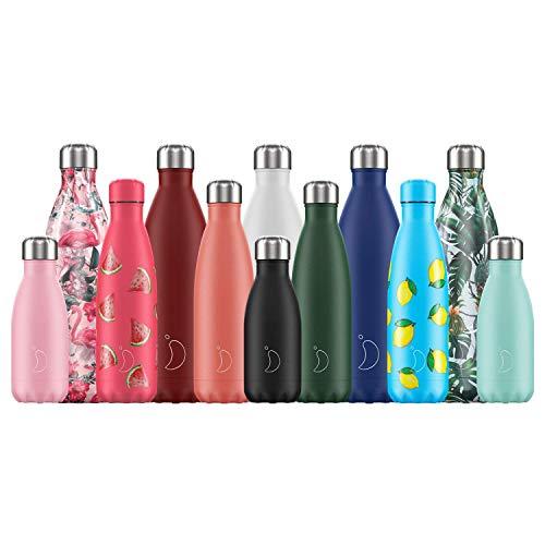 Botella De Agua De Chilly's | Acero Inoxidable y...