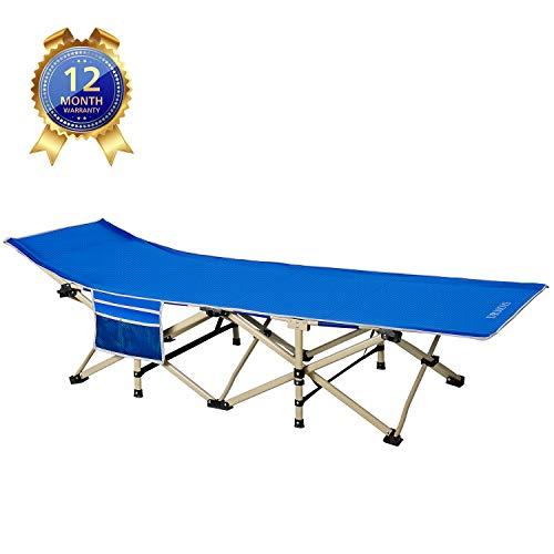 DRMOIS Camas de camping plegable, carga estática...
