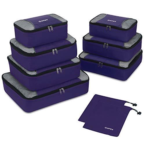 Gonex Packing Cubes Organizadores de Viaje de...