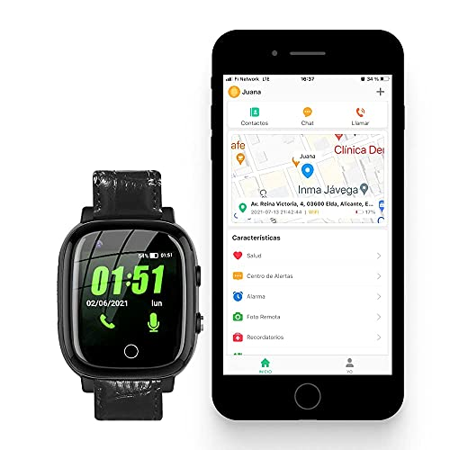 Reloj Localizador GPS Personas Mayores, Niños,...