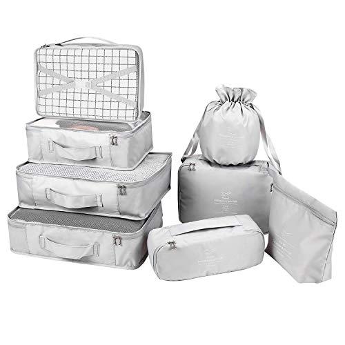 Organizador para Maletas Packing Cubes 8 Juegos/7...