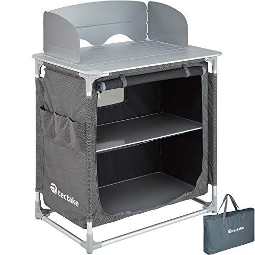 TecTake 800585 - Cocina de Camping, Aluminio,...