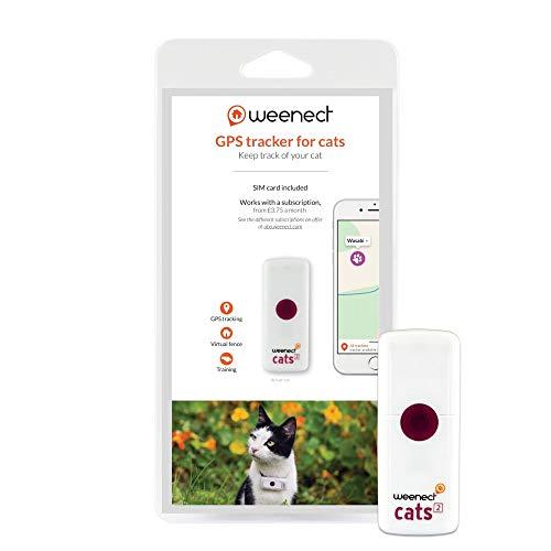 Weenect Cats 2 - El collar GPS para gatos más...
