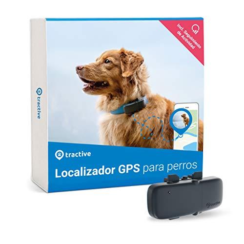 Tractive Localizador GPS para perros, rastreador...