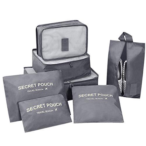 DoGeek- 7 en 1 Set de Organizador de Equipaje...