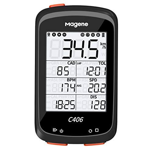 Magene C406 Ordenador para Bicicleta Pantalla LCD...