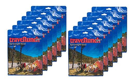 6 x Travellunch almuerzos de Viaje raciones...