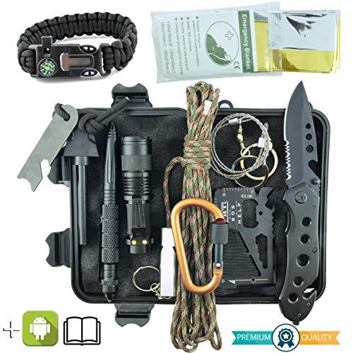 Kit de Supervivencia Militar Profesional...