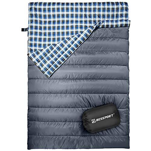Mejor Saco de Dormir Doble - Bessport