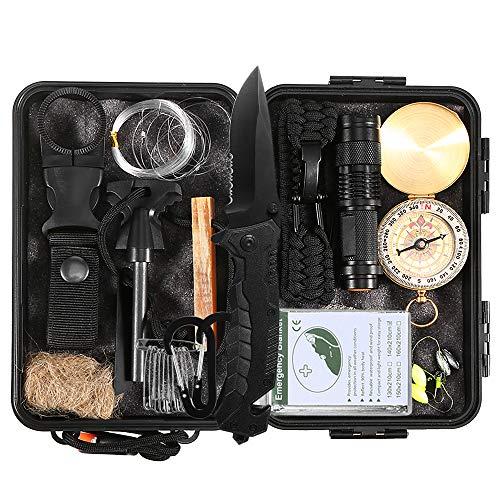 Lixada Kit de Supervivencia Emergencia 27 en 1...