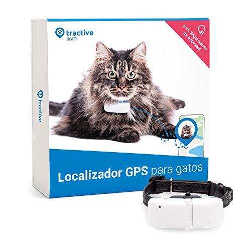 Tractive Collar GPS para gatos (2021), Sígalo a...