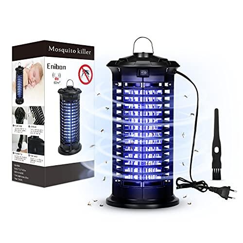 Enibon Lámpara Antimosquitos Eléctrico UV 11W,...