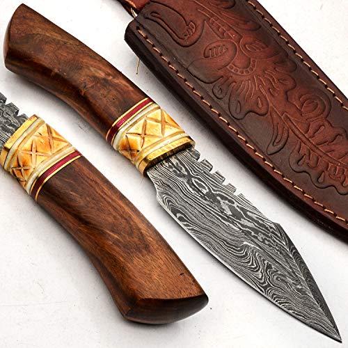 PAL 2000 Cuchillos Damasco – Cuchillo de acero...
