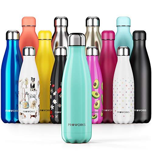 ❤️ Mejor Botella Proworks de Acero Inoxidable