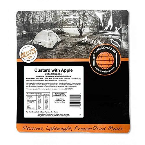Expedition Foods Custard with Apple Gama de...