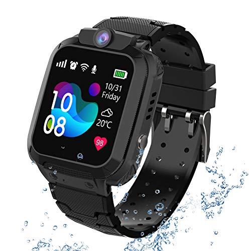 GPS Reloj Smartwatch para niños, impermeable GPS...