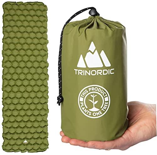 TRINORDIC Colchoneta de camping ultraligera...