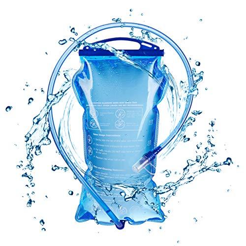 TRIWONDER Bolsa de Agua TPU 1,5L/ 2L/ 3L Plegable...