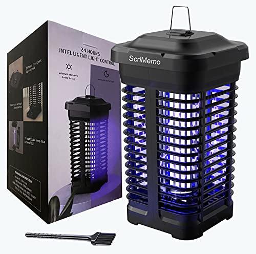 ScriMemo Lámpara Antimosquitos Eléctrico,18W UV...