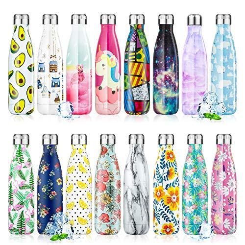 Botella de Agua Acero Inoxidable 350/500/750ml,...