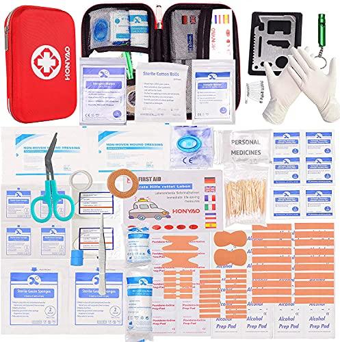 HONYAO Botiquín de Primeros Auxilios, Mini Kit de...