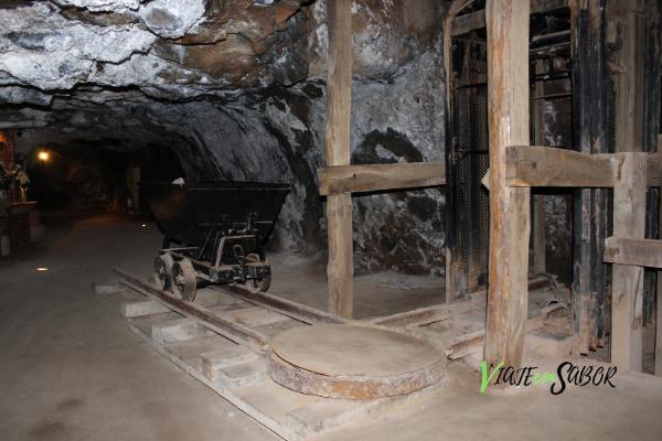 Interior Mina de Almadén