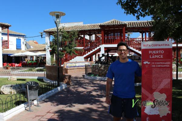 Plaza de la constitución Puerto Lápice