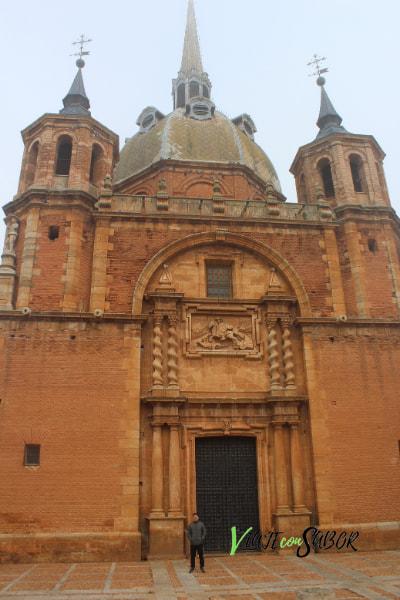 San Carlos del Valle turismo, Iglesia Santisimo Cristo del Valle ViajeconSabor