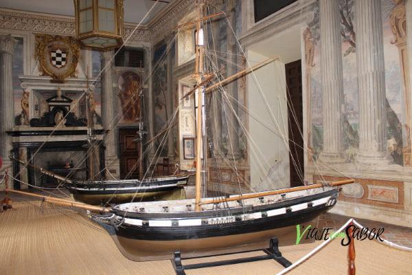 Interior Palacio del Marqués de Santa Cruz ViajeconSabor
