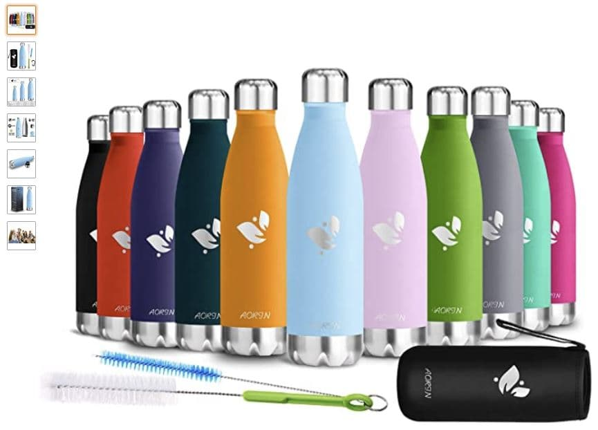 Ver botella de agua reutilizable Aorin