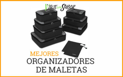 Organizadores de maletas o packing cubes: Comparativas y recomendaciones (2020)