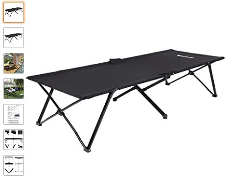 Ver cama o catre plegable camping Songmics