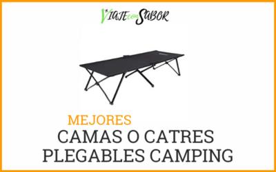 Cama plegable o catre camping: Comparativas y recomendaciones (2020)