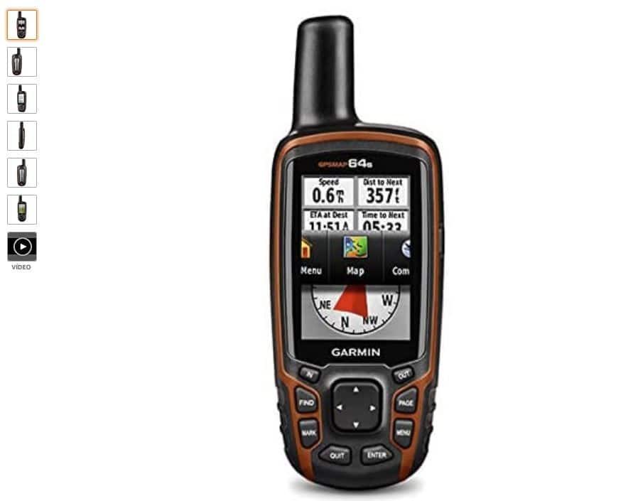 Ver Garmin GPSMap 64s