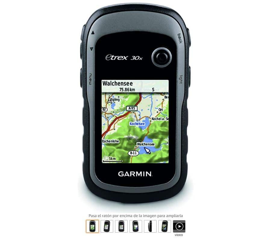 Ver GPS Garmin eTrex 30x
