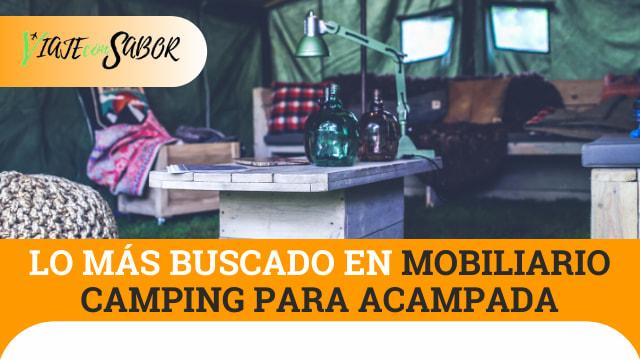 Lo más buscado en mobiliario camping para acampada
