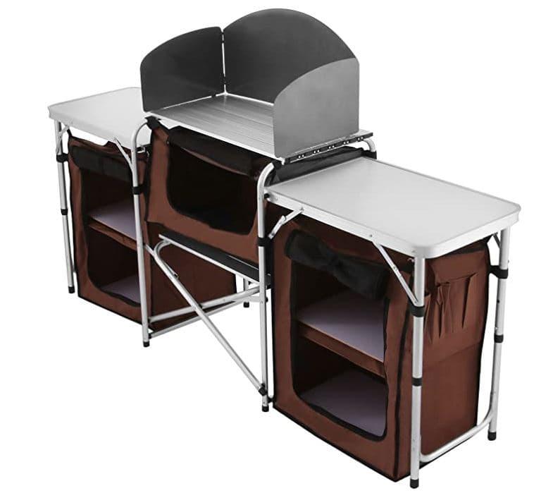 Ver mueble cocina camping Happybuy en Amazon
