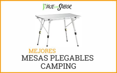 Mesas plegables camping: Catálogo, comparativas y consejos (2020)