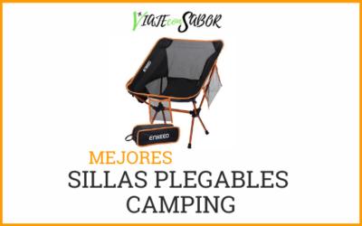 Sillas plegables camping: Catálogo, mejores y consejos (2020)
