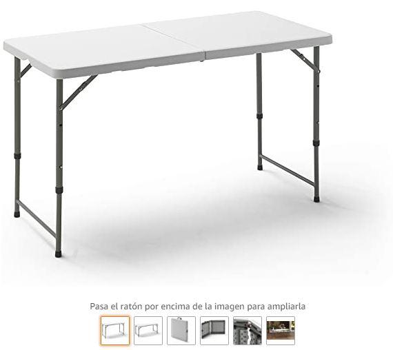 Ver mesa plegable camping KitGarden