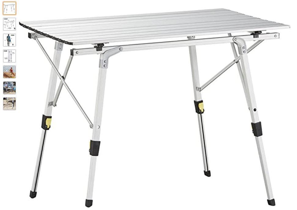 Ver mesa plegable camping Uquip Variety