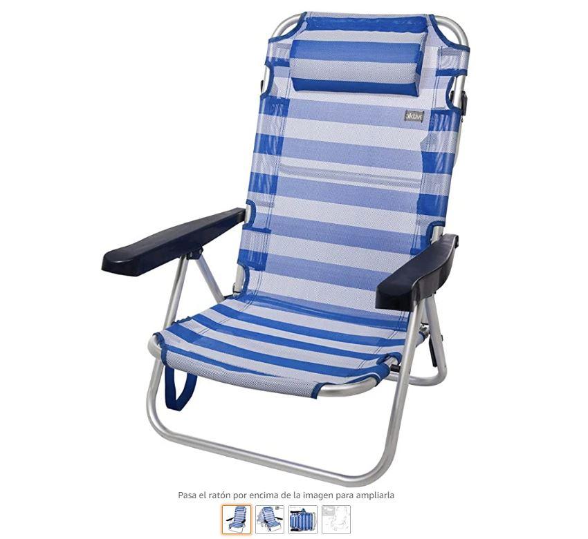 Ver silla plegable camping Aktive
