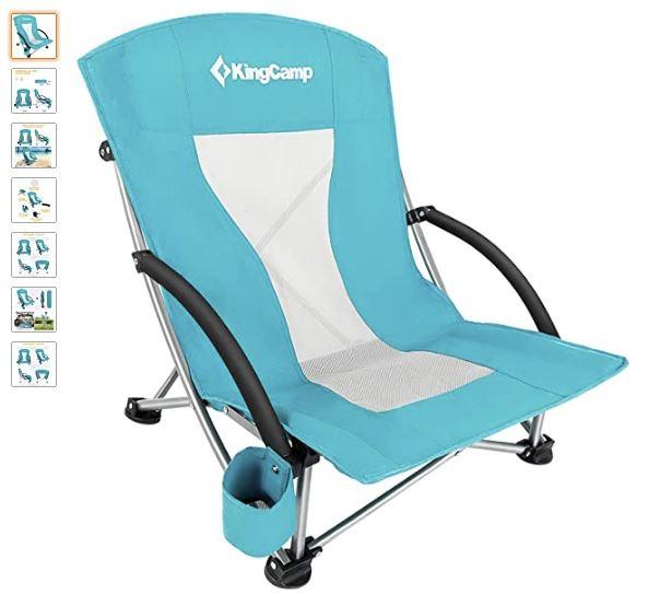 Ver silla plegable camping KingCamp
